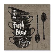 Tablou Canvas - Cafea pe pânză III, fig. 2