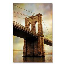 Tablou Canvas - Brooklyn Bridge dimineata, Punte, Pod, fig. 2