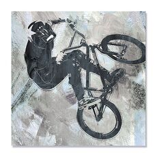 Tablou Canvas - Invarte si striga II, Bicicleta, Sport, fig. 1