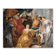 Tablou Canvas - Judecata lui Solomon, Biblia, Oameni, fig. 1