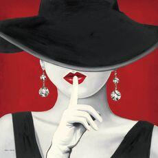 Tablou Canvas - Haute Chapeau Rouge I, fig. 2