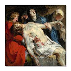 Tablou Canvas - Inmormantarea, Biblia, Oameni, Isus, fig. 1