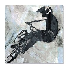 Tablou Canvas - Invarte si striga I, Bicicleta, Sport, fig. 1