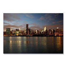 Tablou Canvas - Manhattan dinspre est, Rau, Oras, America, fig. 2