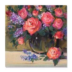Tablou Canvas - Floral Still Life I, fig. 2