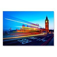 Tablou Canvas - Big Ben, Londra, Sosea, Lumini, fig. 2