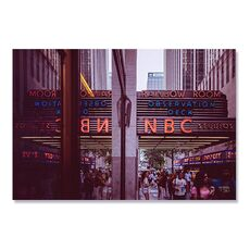 Tablou Canvas - America, NBC studios, Cladire, Oras, Strada, fig. 1