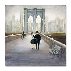 Tablou Canvas - Bridge to NY, fig. 2