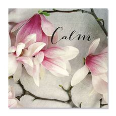 Tablou Canvas - Floare, Roz, Calm, fig. 2