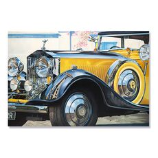 Tablou Canvas - Rolls Royce, Masina, Oldtimer, fig. 2