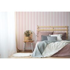 Tapet Premium - Baby pink lines, Vlies (Non-Woven), Eco Frendly, Nu necesita adeziv, Set 3 role, 5,4 mp, fig. 2