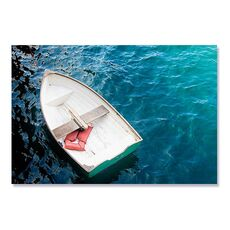 Tablou Canvas - Barca cu vasle I, Apa, Mare, Lac, fig. 2