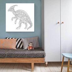 Tablou de colorat - Dinosaur, fig. 2
