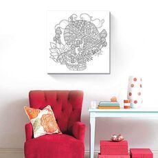Tablou de colorat - Ciuperca magica, fig. 2