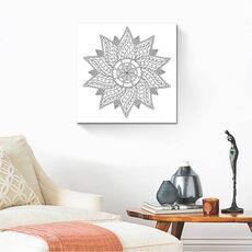 Tablou de colorat - Floral Vintage Mandala, fig. 2