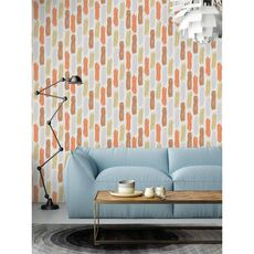 Tapet Premium - Pete, Forme, Geometric, Modern, Vlies (Non-Woven), Eco Frendly, Nu necesita adeziv, Set 3 role, 5,4 mp, fig. 2