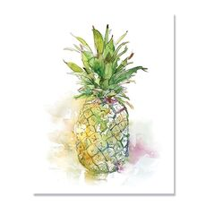 Tablou Canvas - Fructe, Ananas, fig. 2