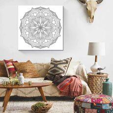 Tablou de colorat - Mandala, fig. 2